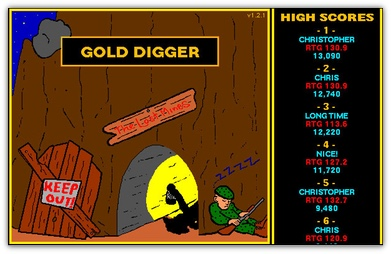 Gold Digger Splash