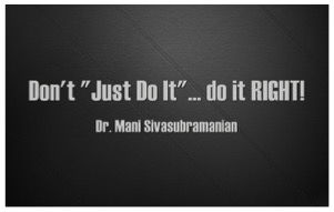 Doit Right Quote