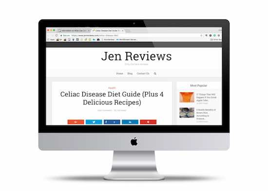 Jen Review Website