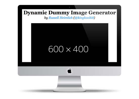 Dynamic Dummy Image