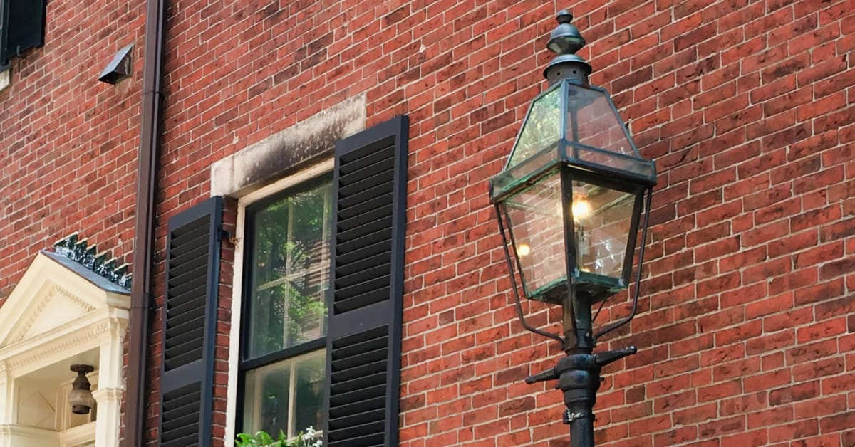 Boston Gas Lamps