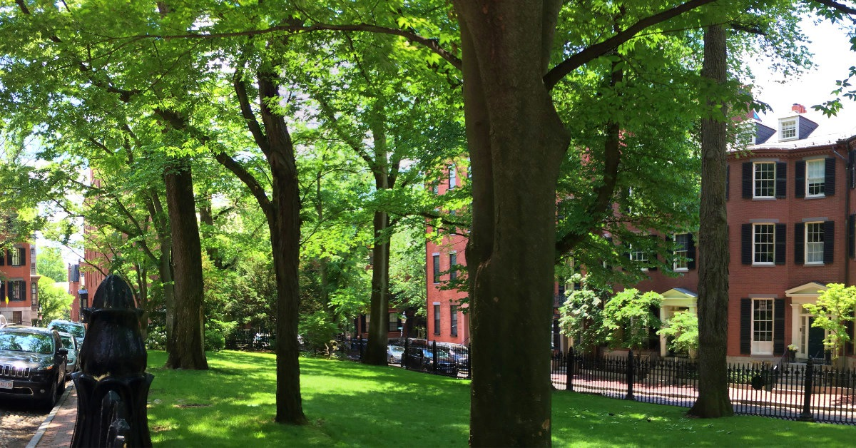 Louisburg Square Pano