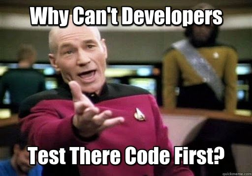 Developers Test Code