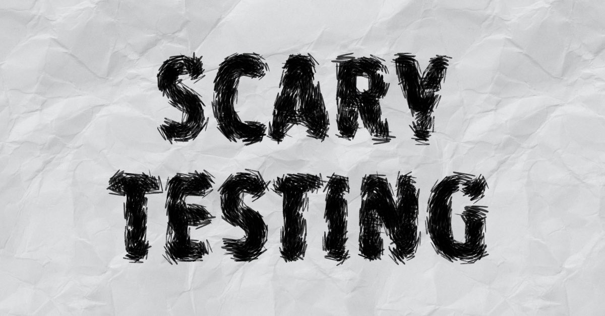 Scary Testing Q A