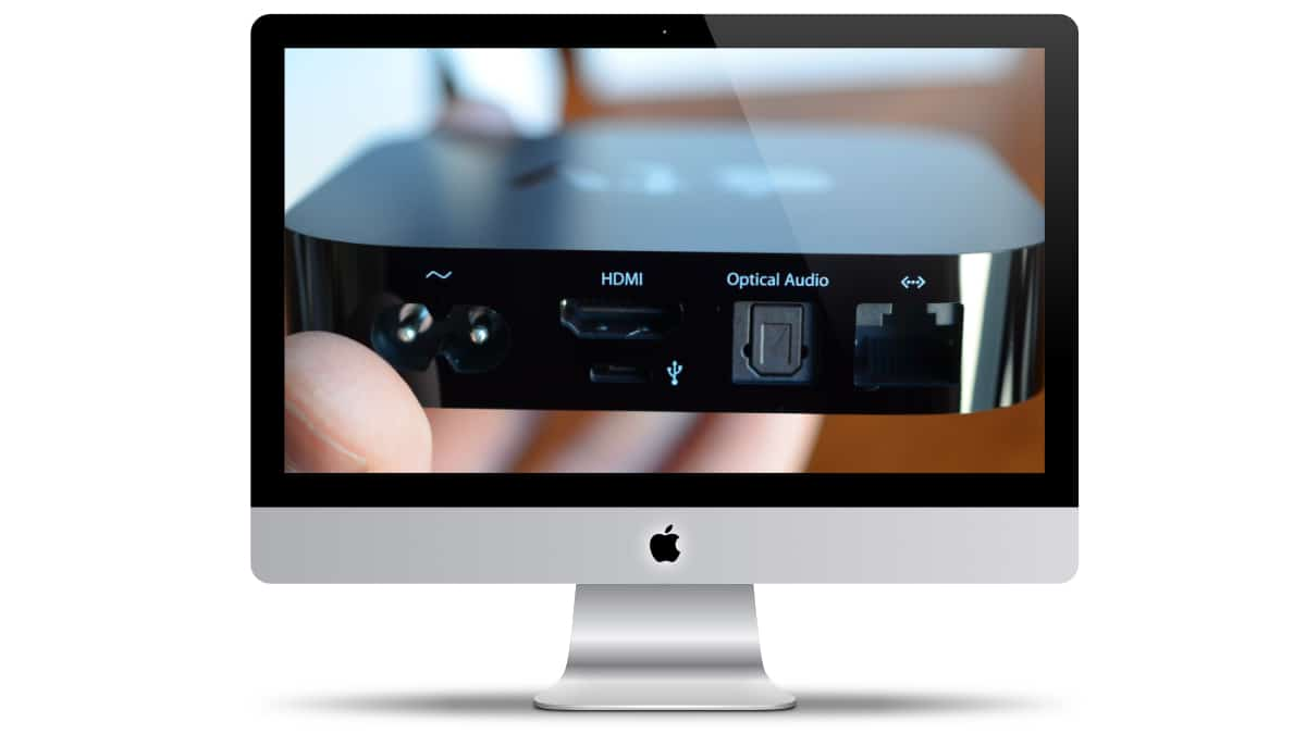 i Mac Apple TV