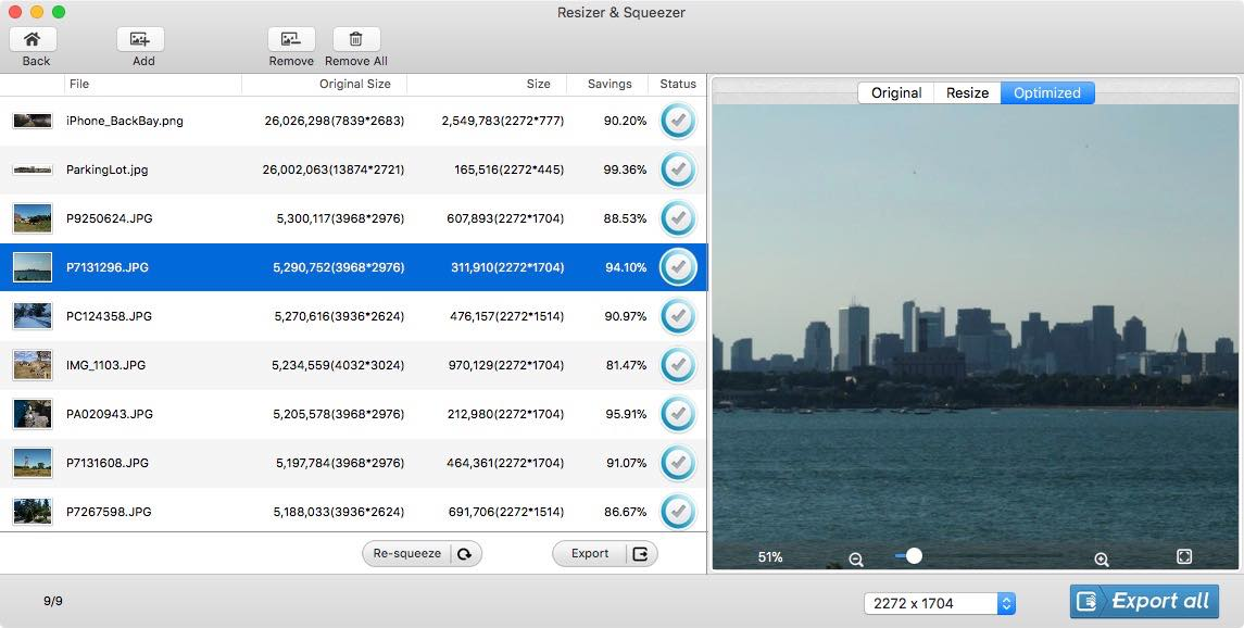 Omni Photo Size Optimizer